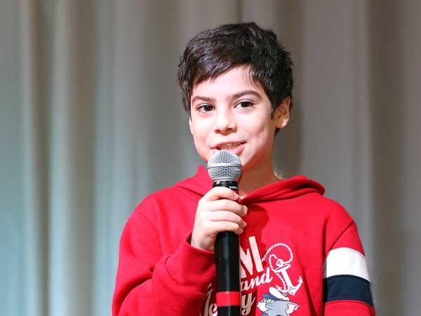 Juara Pertama Lomba Pidato Bahasa Inggris